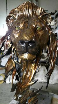 finished bronze sculpture by Rocky Mountain Bronze Shop in Loveland Colorado